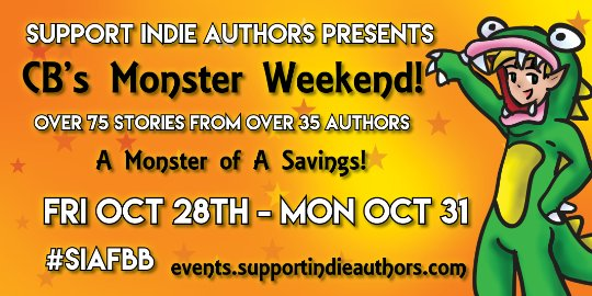 #SIAFBB Monster Weekend Discount& Free Book Promo Oct 28 – Oct 31