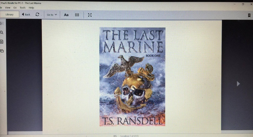 THE LAST MARINE by T.S. Ransdell