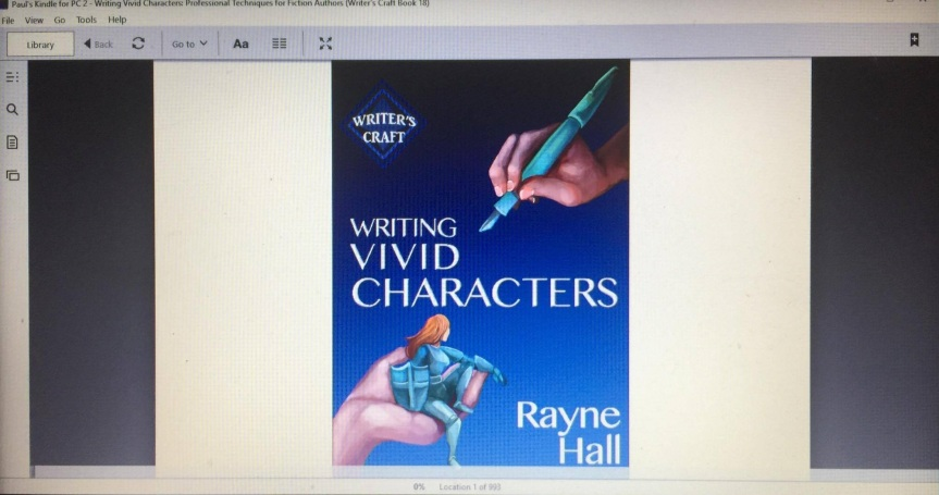 WRITING VIVID CHARACTERS by Rayne Hall
