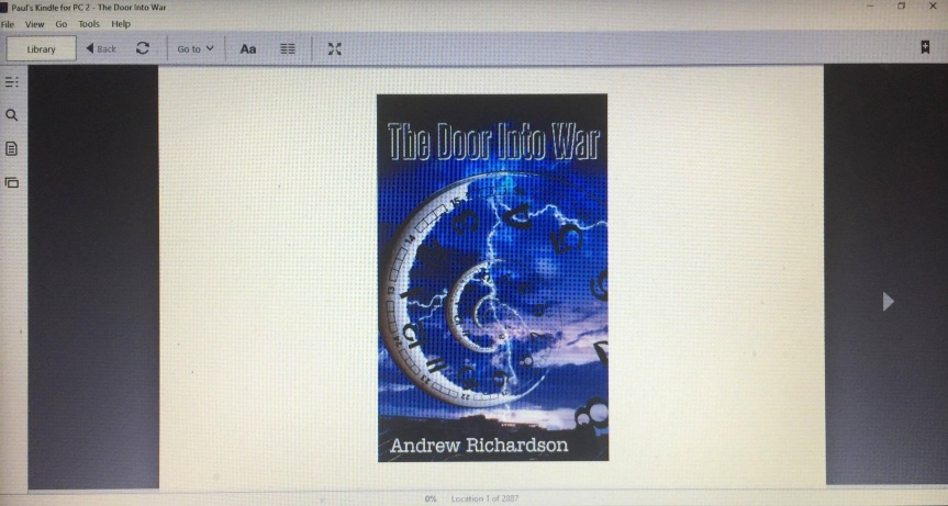 THE DOOR INTO WAR by Andrew Richardson