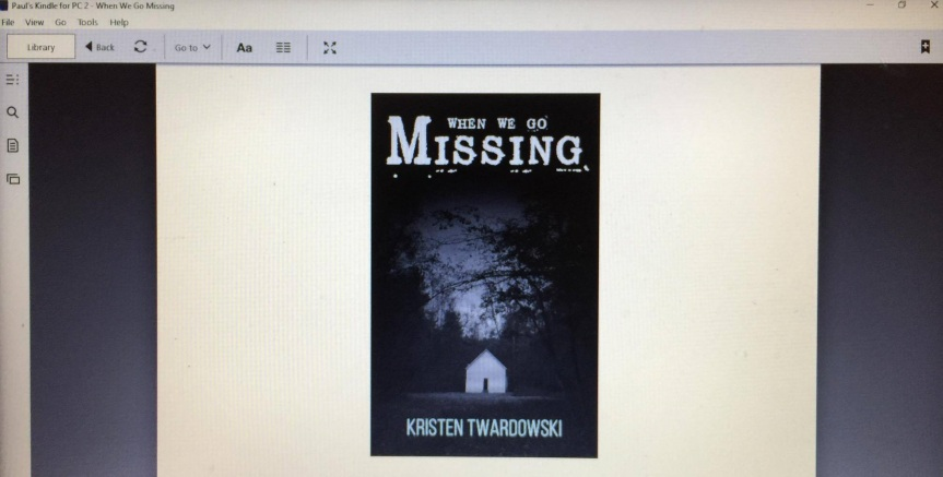 WHEN WE GO MISSING by Kristen Twardowski