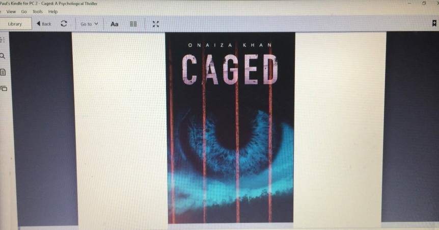 CAGED by Onaiza Khan