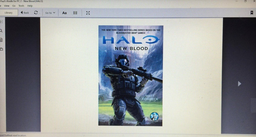HALO NEW BLOOD by Matt Forbeck