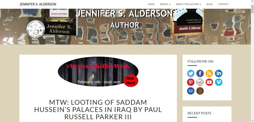 My guest post for MTW on Jennifer S. Alderson's blog.