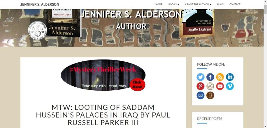 My guest post for MTW on Jennifer S. Alderson's blog.
