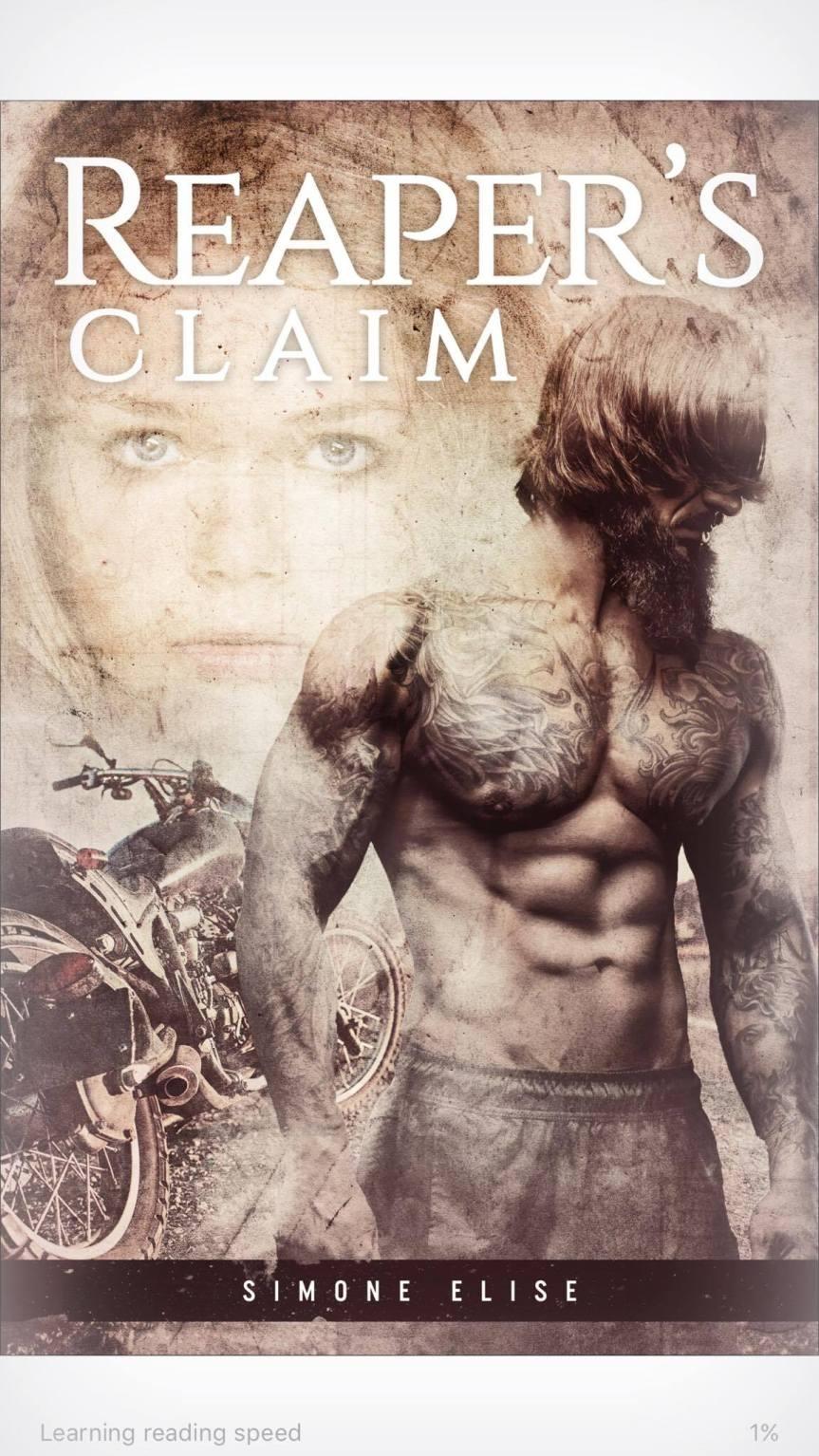 Reaper's Claim, Satan's Sons MC Romance Series by SimoneElise