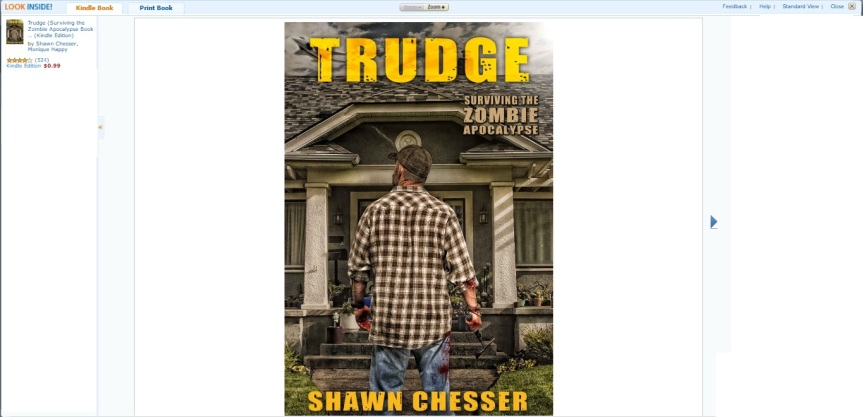 TRUDGE (Surviving the Zombie Apocalypse) by Shawn Chesser
