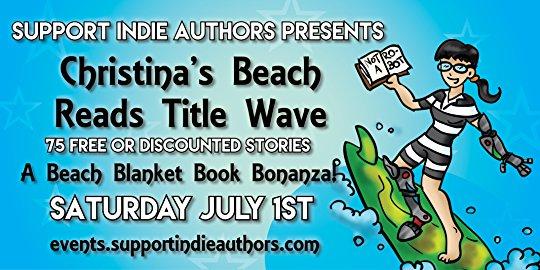 Christina's Beach Reads Title Wave, July1st