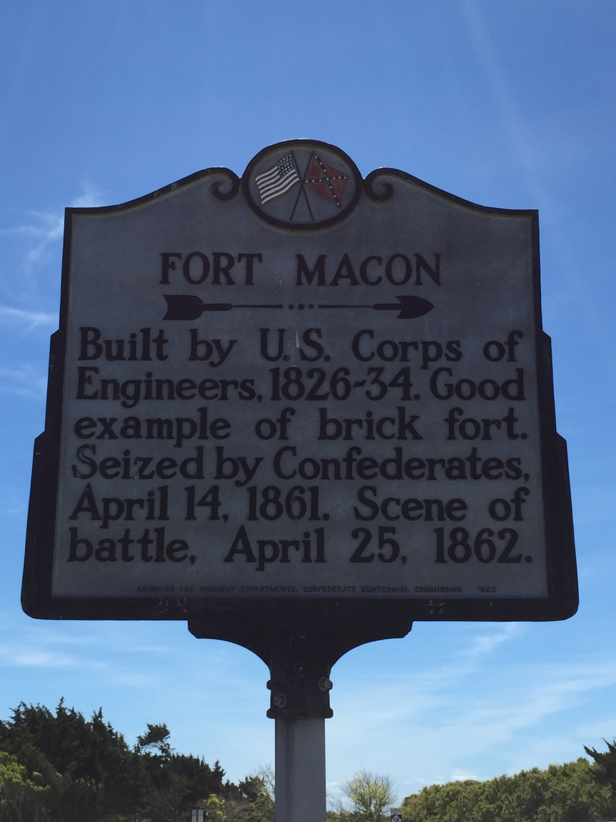 Visit Fort Macon State Park, North Carolina