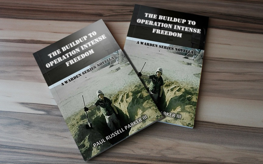 A video of me reading from The Buildup to Operation Intense Freedom