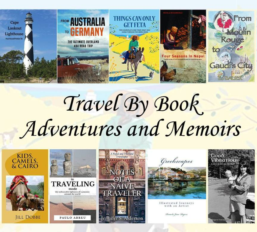 Adventures and Memoirs – Travel By Book on Jennifer S. Alderson's website