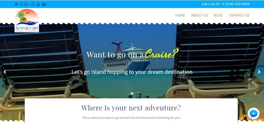 Sand, Sea, Sky Travel &Tourism