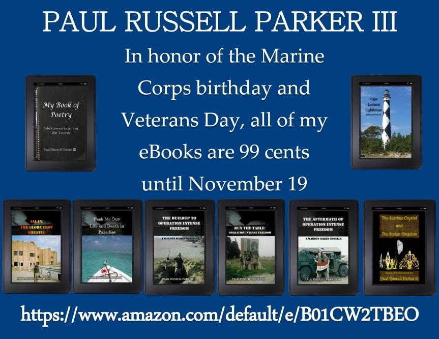 Marine Corps Birthday and Veterans Daypromo