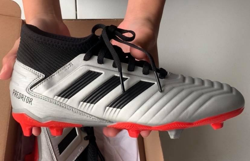 Adidas Predator 19.3 Firm Ground Soccer Cleats Unboxing